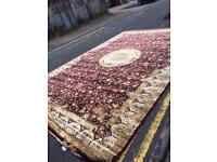 Huge silky rugs
