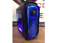 New Fast Gaming PC Desktop Computer A8 Quad Core 8GB RAM 128GB SSD Win 10 Wifi Free Delivery