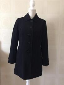 Ladies Black Mac