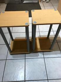 2 x display table, £5 for both, collect Consett telephone 01207504375