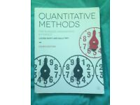 Quantitative Methods Louise Swift and Sally Piff