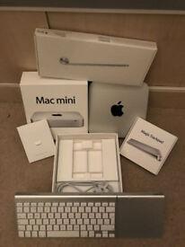 Immaculate Mac Mini core i5, 8GB boxed apple wireless keyboard and magic trackpad