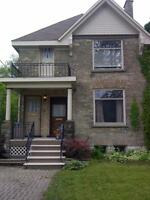 Beautiful 3 bdrm apartment with a den Lots of heritage character