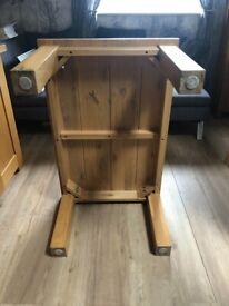 Solid Oak Wood Table
