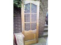 Free to collector Internal hardwood door