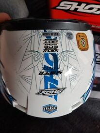 Shox Peacock Helmet G45