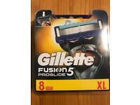 Gillette fusion proglide 8 per packs