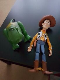 Toy Story Talking Rex & Talking Woody Toys