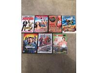 Comedy DVD's Wedding Crashers Knocked Up Road Trip etc