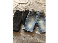 X 2 Next boys shorts age 3