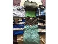 Men's Hollister Bundle, 8 items, Medium, excellent condition