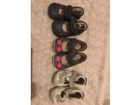 First Shoes x3 by Clark's Infant Size 2f