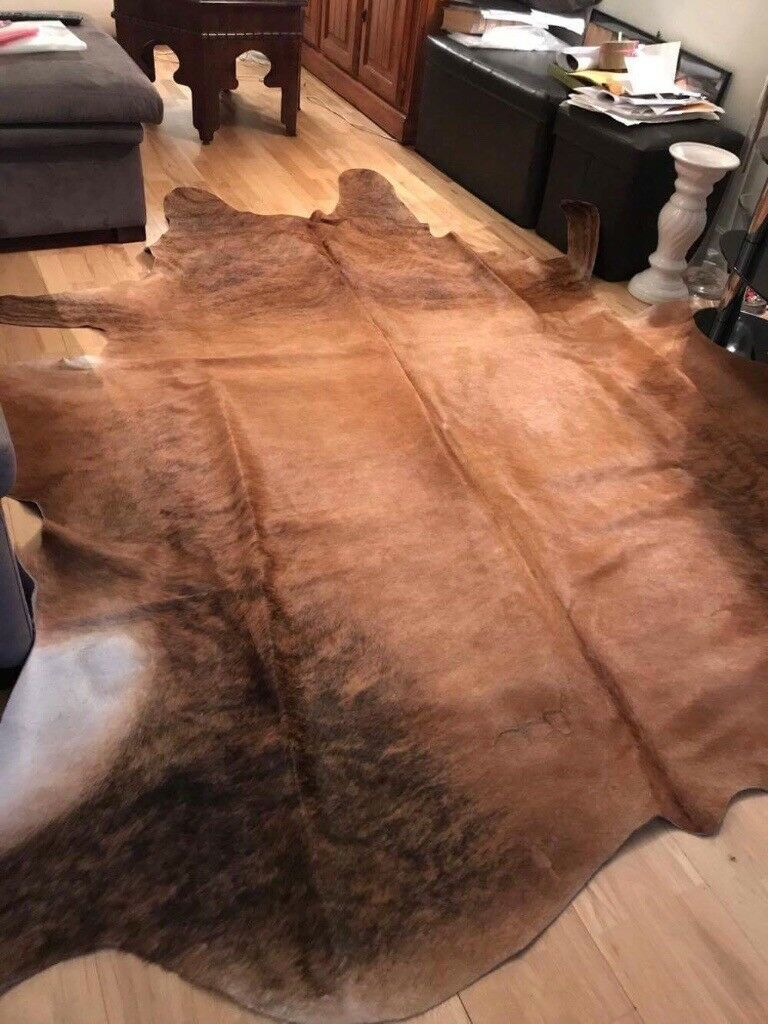 Genuine Cow's skin rug