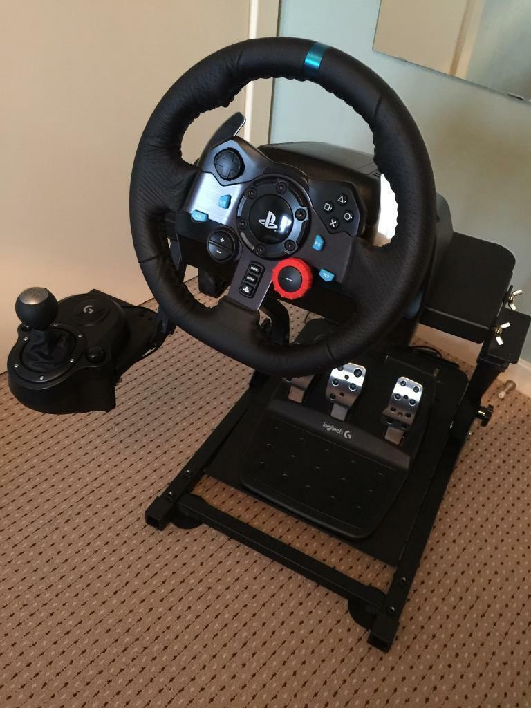 Logitech G29 GT Omega Package PS4 and PC | in Caversham, Berkshire | Gumtree