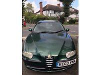 Alfa Romeo 147 Manual 2.0L T.SPARK (2003) £350ono