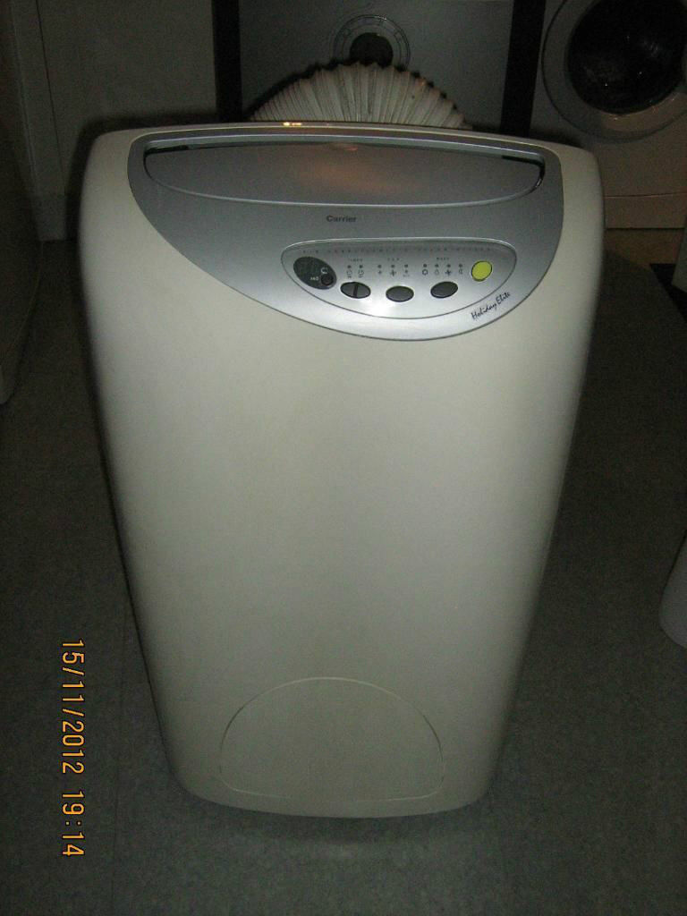 Carrier Portable Air Conditioning And Heater Holiday Elite