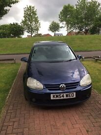 Reduced to sell VW Golf 2004 2L diesel