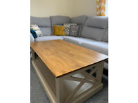 Solid Wood Large Coffee Table from Oakfurnitureland £170 ONO