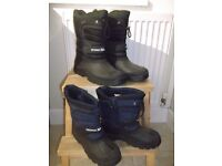 Trespass men's snow boots - excellent condition. size 10. Colour - black. Size 6 also available