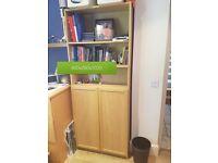 IKEA Billy Cabinet in Light Oak
