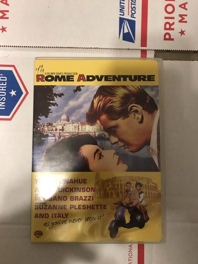 Rome Adventure DVD 1962 Troy Donahue Angie Dickinson RARE OOP - $9.99