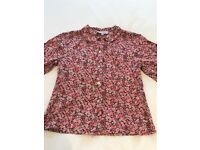 Girl's Liberty Print Blouse Age 6/7 - Lily Rose brand from Trotters