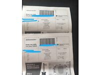 2 Robbie Williams tickets, Aviva stadium Dublin, 17th June.