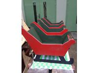 Christmas decorations wooden Sleigh