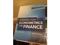 Introductory Econometrics for Finance by Chris Brooks 3rd edition