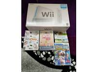 as new Nintendo Wii and games