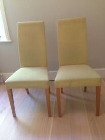2 Dining chairs available