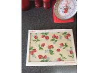 Cath kidston strawberry placemats set