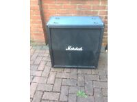 MARSHALL 4 X12 SPEAKER CABINET GOOD WORKING ORDER MODEL MG 412A GOING FOR CHEAP