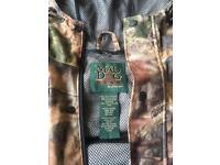 Camo carp fishing jacket mad dog