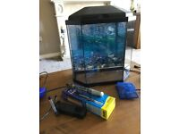 Vision Aquarium 30, Complete Fish TAnk With L.E.D Light & Filtration System