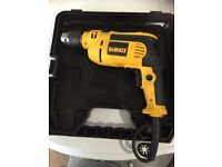 Dewalt DWD024 hammer drill in case