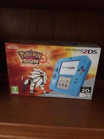 Pokemon Sun Nintendo 2ds complete in box.