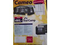 Dorema Starcamp Cameo Full Awning - Charcoal size 14 - 975-1000