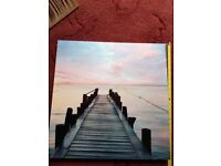 4 lovely Canvas pics