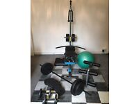 Men's Health Home Gym - Weights, Bench, Multi-Gym and Gym Ball