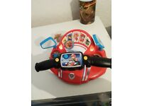 Paw patrol toys. The back is lost off paw patroller