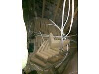 72 x stone quoins. Q77 . BUFF . 213x348x233 . Brand new . Unused . . Paid £900 .