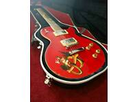 Gibson Les Paul Slash Snake pit Chinese replica with gator hardcase