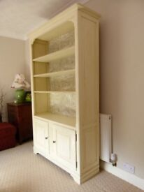 Large Ducal upcyled Solid Pine Dresser/Bookcase, Laura Ashley, Pierre Frey, Braquenie