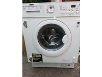 BRAND NEW INTEGRATED ZANUSSI ZWI71201WA WASHING MACHINE £250