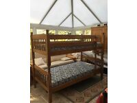 £50 Bunk Bed set with mattresses, for pickup only
