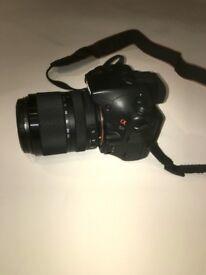 SONY Alpha 57 16.1MP Digital SLR Camera- Black (Kit w/ Case + 18-135mm Lens)