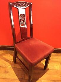 Chinese style wooden chairs