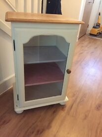Shabby Chic glass cupboard
