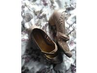 Marco Tozzi designer size 5 ladies shoes.